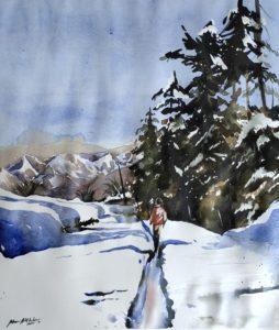 Mueen Akhtar's Paintings
