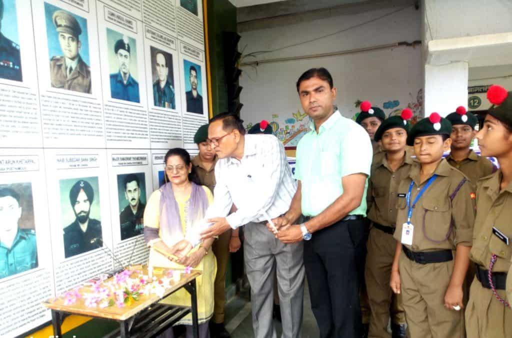 NCC Unit under ANO Mueen Akhtar