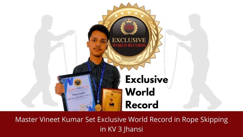 Exclusive Record in K V No 3 Jhansi