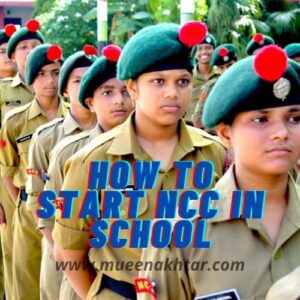 how to start ncc in school